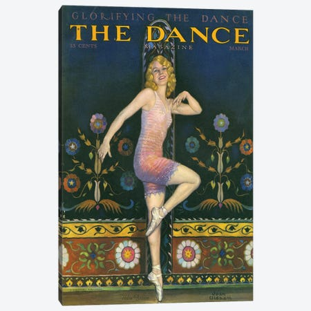 1930s The Dance Magazine Cover Canvas Print #TAA262} by The Advertising Archives Canvas Print