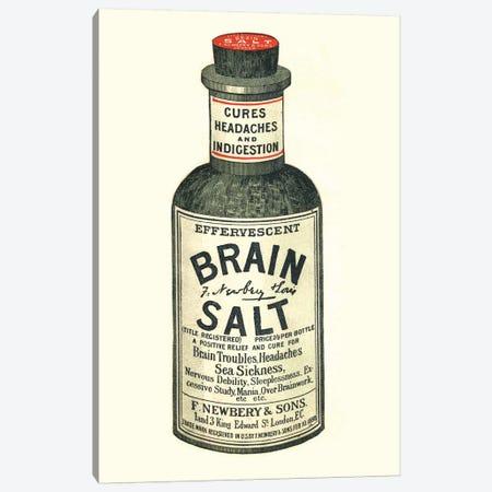 1890s Brain Salt Magazine Advert Canvas Print #TAA288} by The Advertising Archives Art Print