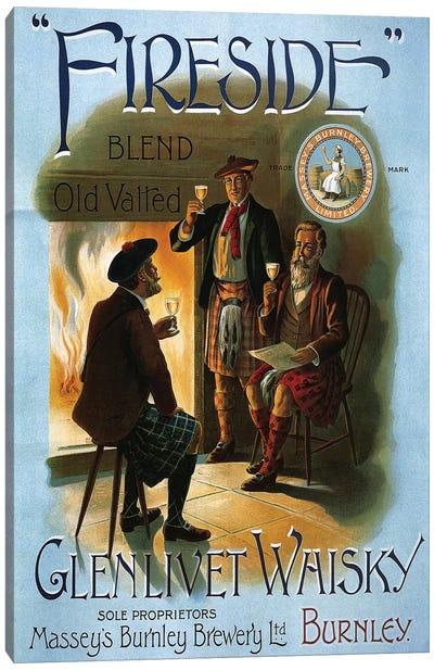 1904 Glenlivet Whisky Poster Canvas Art Print