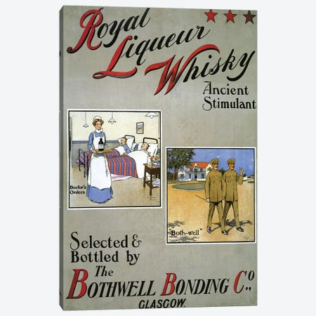 1909 Royal Liqueur Whisky Poster Canvas Print #TAA296} by The Advertising Archives Art Print