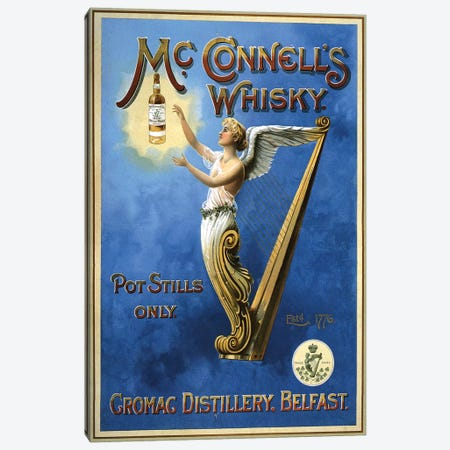 1898 Mcconnell's Whisky Advert Canvas Print #TAA2} by The Advertising Archives Canvas Print