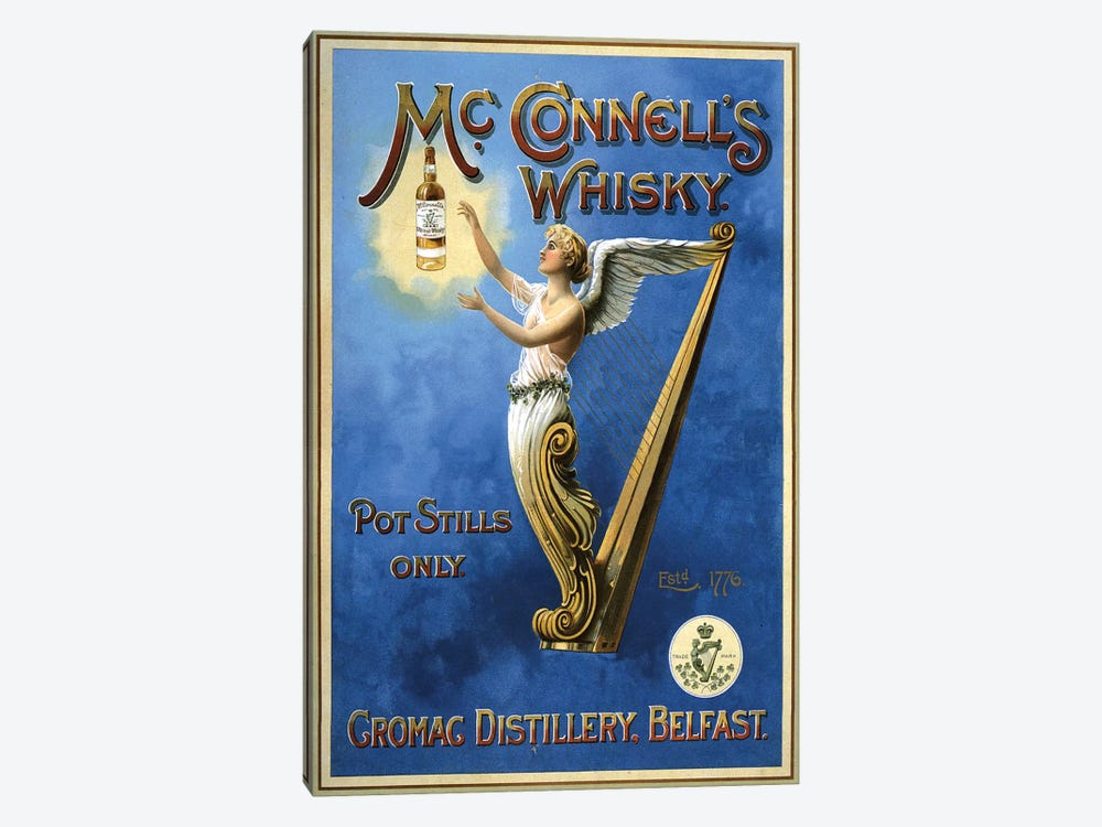 1898 Mcconnell's Whisky Advert by The Advertising Archives 1-piece Canvas Art Print