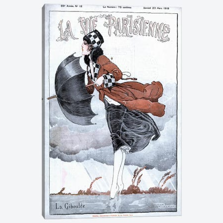 1918 La Vie Parisienne Magazine Cover Canvas Print #TAA309} by The Advertising Archives Canvas Artwork