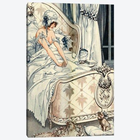 1918 La Vie Parisienne Magazine Plate Canvas Print #TAA310} by Cheri Herouard Canvas Print