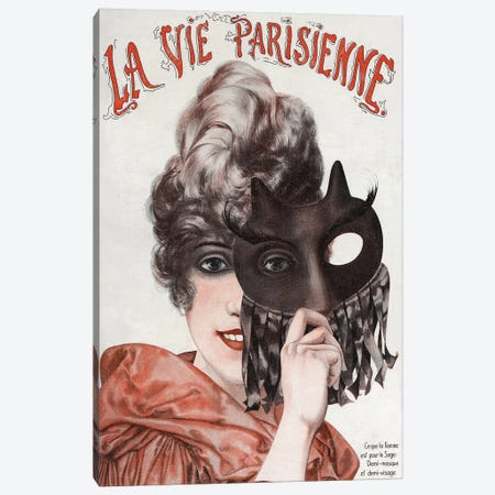 1920 La Vie Parisienne Magazine Cover Canvas Print #TAA315} by The Advertising Archives Canvas Artwork