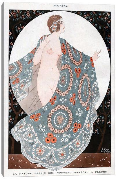 1920 La Vie Parisienne Magazine Plate Canvas Art Print