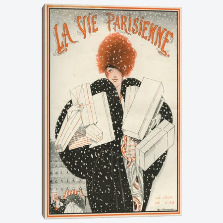 1921 La Vie Parisienne Magazine Cover Canvas Print #TAA339} by The Advertising Archives Art Print
