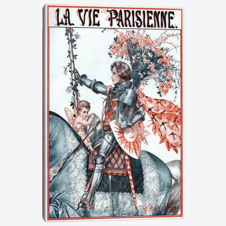 1923 La Vie Parisienne Magazine Plate Canvas Print #TAA349} by Cheri Herouard Canvas Artwork