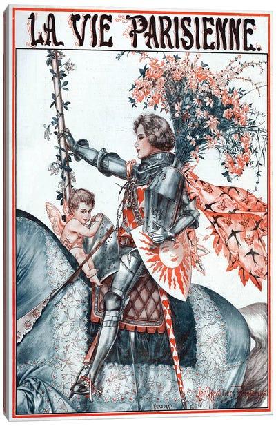 1923 La Vie Parisienne Magazine Plate Canvas Art Print