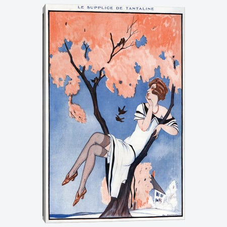 1924 La Vie Parisienne Magazine Plate Canvas Print #TAA354} by The Advertising Archives Canvas Wall Art