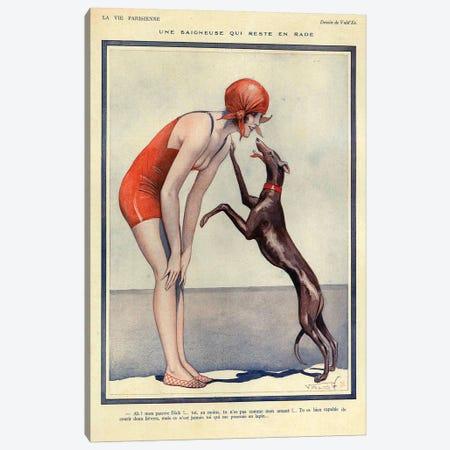1925 La Vie parisienne Magazine Plate Canvas Print #TAA359} by The Advertising Archives Canvas Art Print