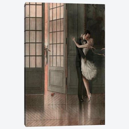 1929 La Vie Parisienne Magazine Plate Canvas Print #TAA369} by Georges Leonnec Canvas Wall Art