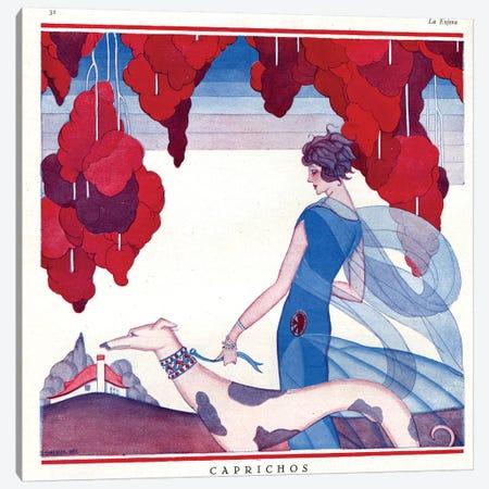 1920s La Vie Parisienne Magazine Plate Canvas Print #TAA36} by The Advertising Archives Canvas Art Print