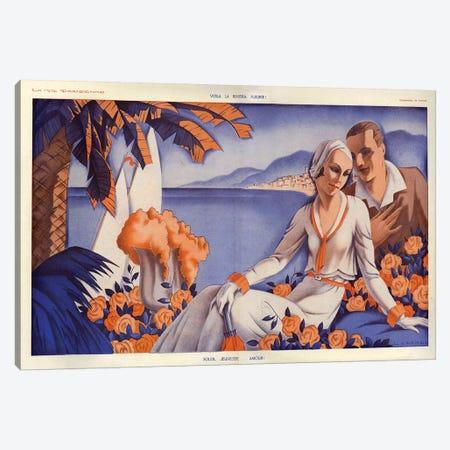 1931 La Vie Parisienne Magazine Plate Canvas Print #TAA387} by Fabius Lorenzi Art Print