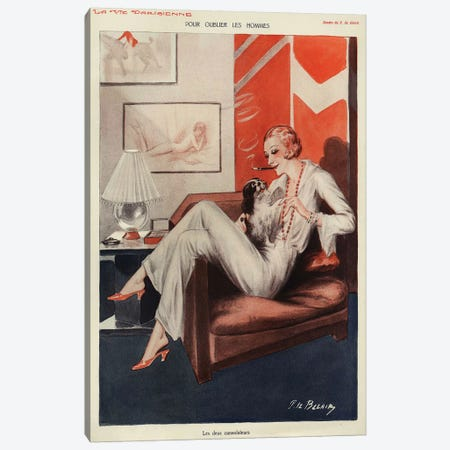 1931 La Vie Parisienne Magazine Plate Canvas Print #TAA388} by The Advertising Archives Canvas Art
