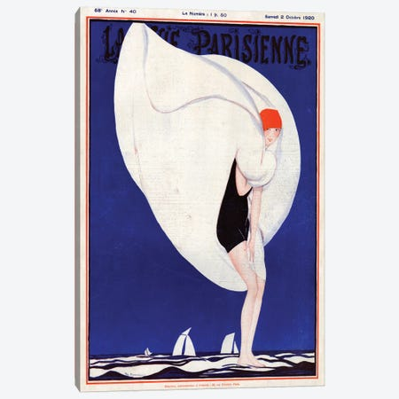 1920s La Vie Parisienne Magazine Plate Canvas Print #TAA39} by The Advertising Archives Canvas Artwork