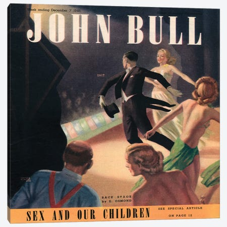 1946 John Bull Magazine Cover Canvas Print #TAA410} by The Advertising Archives Canvas Art