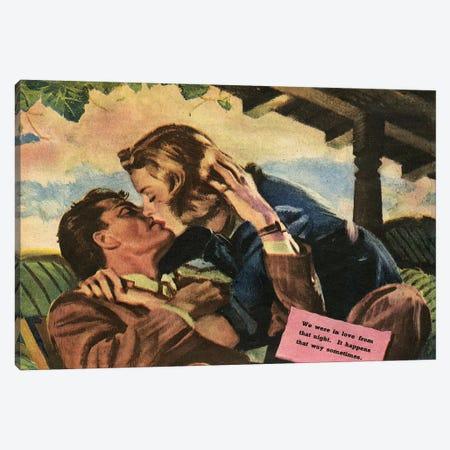 1947 UK Magazine Plate 3-Piece Canvas #TAA413} by Pruett Carter Canvas Artwork