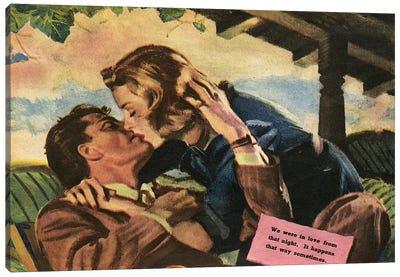 1947 UK Magazine Plate Canvas Art Print