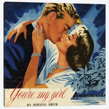 1949 John Bull Magazine Plate Canvas Print #TAA421} by Glyn Jones Canvas Art Print
