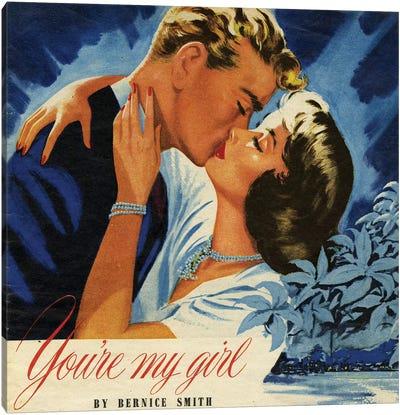 1949 John Bull Magazine Plate Canvas Art Print