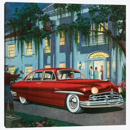 1949 Lincoln Magazine Advert Canvas Print #TAA422} by The Advertising Archives Canvas Print