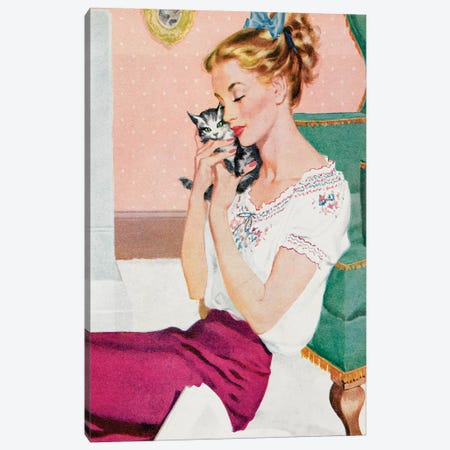1951 Woman's Journal Magazine Plate Canvas Print #TAA438} by The Advertising Archives Canvas Wall Art