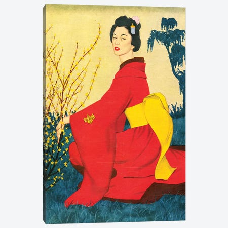 1954 John Bull Magazine Plate Canvas Print #TAA445} by Harry Zelinski Canvas Wall Art