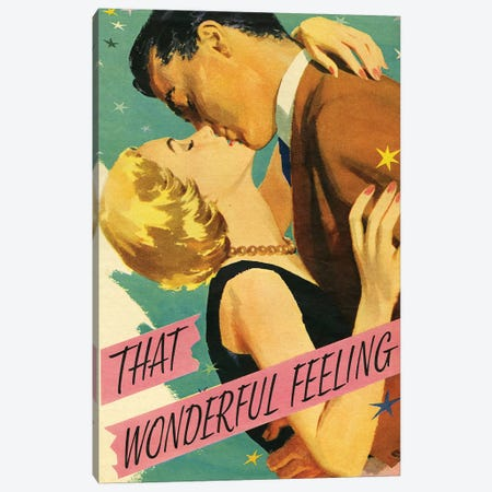 1954 That Wonderful Feeling Magazine Plate Canvas Print #TAA446} by The Advertising Archives Canvas Art