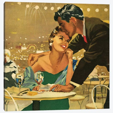 1955 UK Magazine Plate Canvas Print #TAA453} by Joe De Mers Canvas Wall Art