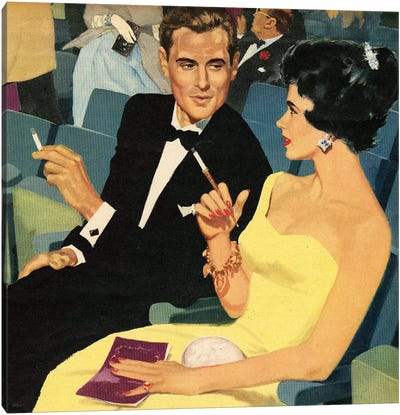 1957 John Bull Magazine Plate Canvas Art Print