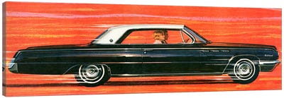 1960 Buick Magazine Advert Canvas Art Print