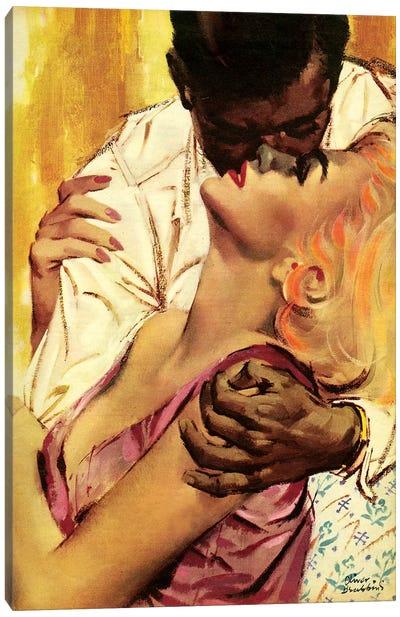 1961 UK Romance Magazine Plate Canvas Art Print