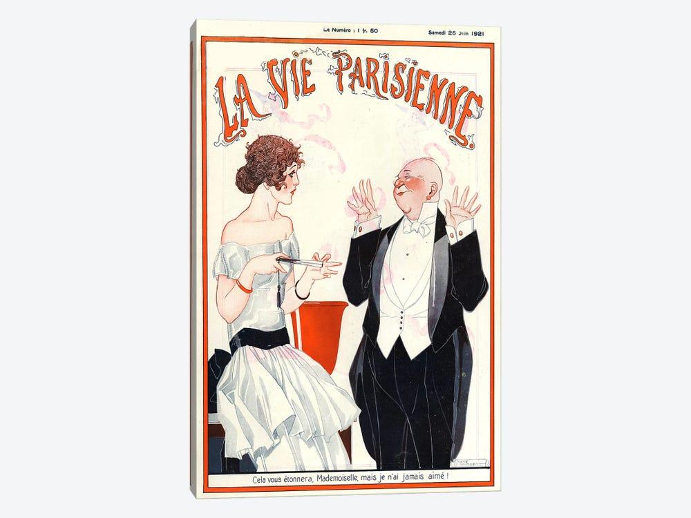 1921 La Vie Parisienne Magazine Cover by The Advertising Archives 1-piece Art Print