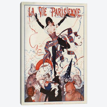 1922 La Vie Parisienne Magazine Cover Canvas Print #TAA66} by Leo Fontan Canvas Art