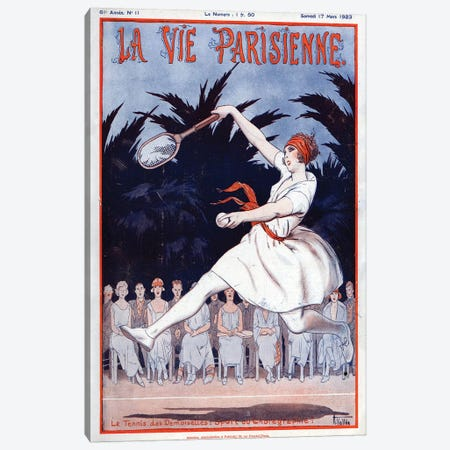 1923 La Vie Parisienne Magazine Cover Canvas Print #TAA72} by Armand Vallee Canvas Wall Art