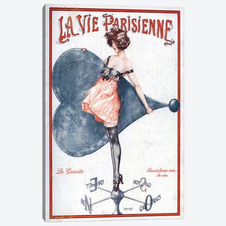 1923 La Vie Parisienne Magazine Cover 3-Piece Canvas #TAA73} by Cheri Herouard Canvas Wall Art