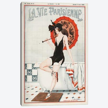 1923 La Vie Parisienne Magazine Cover Canvas Print #TAA75} by Leo Fontan Canvas Print