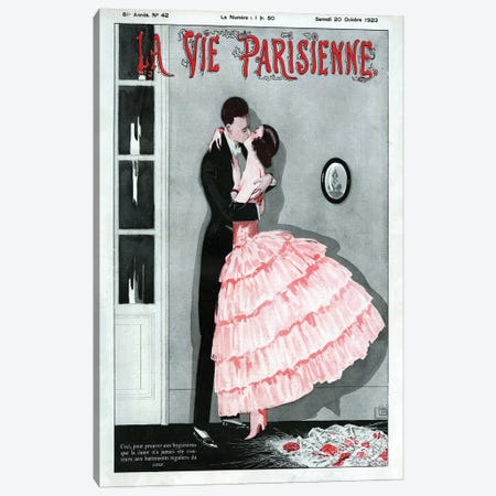 1923 La Vie Parisienne Magazine Cover Canvas Print #TAA78} by The Advertising Archives Canvas Artwork