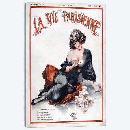 1923 La Vie Parisienne Magazine Plate Canvas Print #TAA82} by Cheri Herouard Art Print
