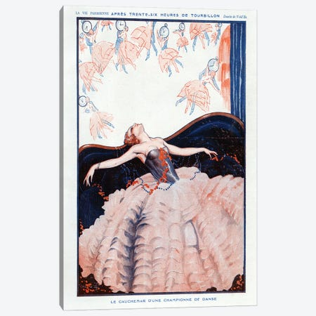 1923 La Vie Parisienne Magazine Plate Canvas Print #TAA85} by The Advertising Archives Canvas Artwork