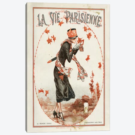 1924 La Vie Parisienne Magazine Cover Canvas Print #TAA90} by Cheri Herouard Canvas Wall Art
