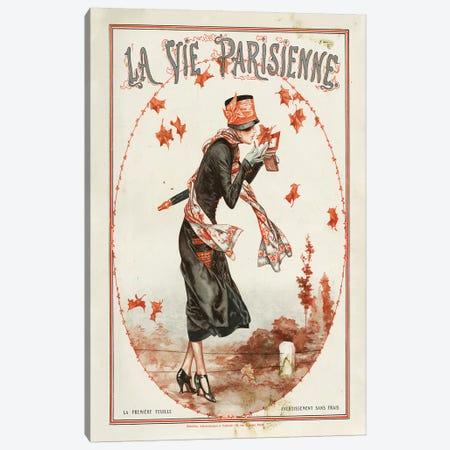 1924 La Vie Parisienne Magazine Cover Canvas Print #TAA90} by Cheri Herouard Canvas Wall Art