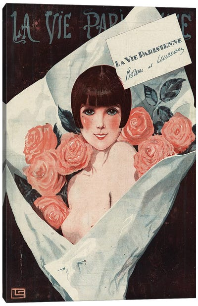 1924 La Vie Parisienne Magazine Cover Canvas Art Print
