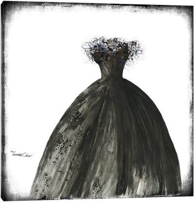 Black Dress I Canvas Art Print