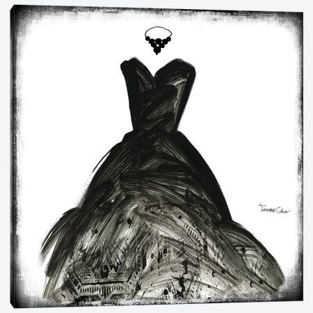 Black Dress II Canvas Print #TAC2} by Tamara Cohen Canvas Art Print