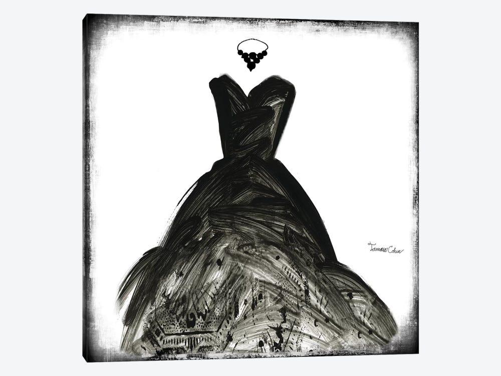 Black Dress II by Tamara Cohen 1-piece Art Print