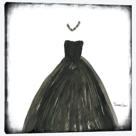 Black Dress III Canvas Print #TAC3} by Tamara Cohen Canvas Print
