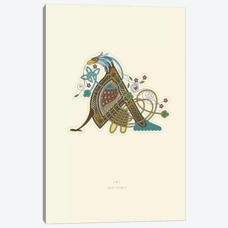 A Celtic Initial Canvas Print #TAD101} by Thoth Adan Canvas Artwork