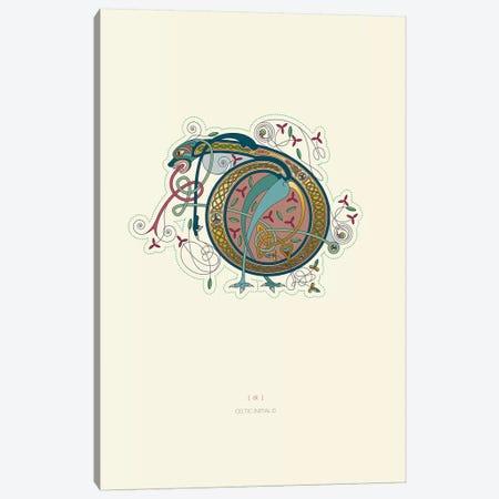 D Celtic Initial Canvas Print #TAD104} by Thoth Adan Canvas Art Print
